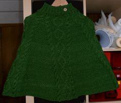 ♥ Mimos de Mãe ♥: Poncho Verde