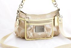 798bbaa2809 ON SALE COACH Signature Poppy Op Art Purse Crossbody shoulder bag 14562   Coach  ShoulderBag