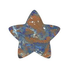 Planet Mercury Star Sticker - craft supplies diy custom design supply special