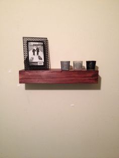 Check out this item in my Etsy shop https://www.etsy.com/listing/231762806/wood-floating-shelf-rustic-home-decor