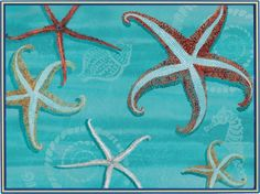 lldecor - Sea Star Placemats Set of 4, $40.00 (http://www.lldecor.com/products/sea-star-placemats-set-of-4.html)