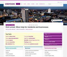 Portfolio website idea