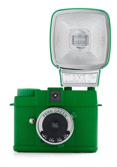Special Edition Diana Mini Camera in Fern Green | More colourful lusciousness here: http://mylusciouslife.com/photo-galleries/a-colourful-life-colours-patterns-and-textiles/