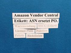 Bei der ASN-Erstellung im Amazon Vendor Central ist es nun möglich, die ASN auf Karton- bzw. Palettenbasis zu erstellen.