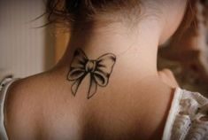 Bow tattoo #tattoos #YouQueen