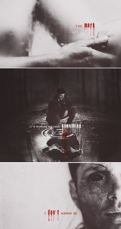 Dean Winchester: The mark is making me into something I don't want to be. #spn