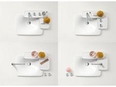 Trucchi e consigli per arredare un bagno piccolo #Casa #Arredo #Bath