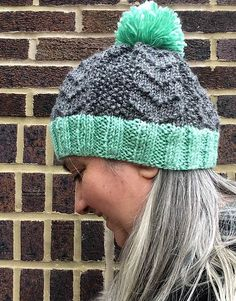 Nothing beats texture when it comes to knitting patterns. This Bird Tracks Beanie is just full of texture. What colors would you choose for this hat?