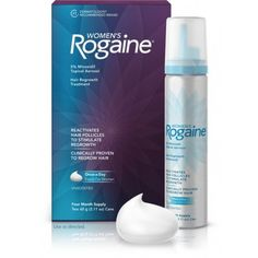 Women s Rogaine Foam Hair Regrowth Treatment, 4 Month Supply, 2 11 Ounce from Women s Rogaine AED399.00