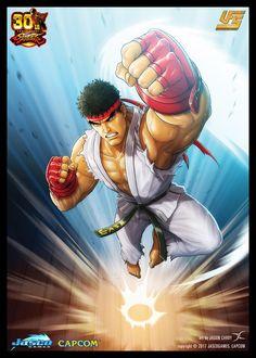 Sakura Kasugano - Street Fighter V by raiderswing on DeviantArt Ryu Street Fighter, Super Street Fighter, Mortal Kombat Games, Street Fighter Characters, Kasugano, Fighting Games, Marvel Vs, Overwatch, Character
