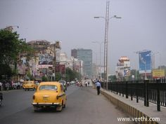 Indian Pride Ambassador on a Kolkata Road