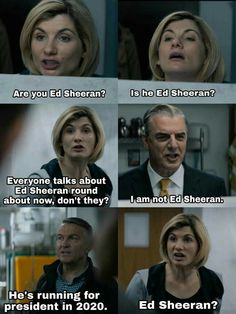 Doctor Who - - This will forever be one of my favorite scenes in television history. Informationen zu Doctor Who - Doctor Who 2005, Doctor Who Funny, 13th Doctor, Doctor Who Quotes, Doctor Who Humor, Dr Who, Geronimo, Sherlock, Star Trek