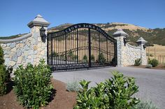 home security cameras and gates | Gated Security | Luxury Executive Home For Sale - Medford Oregon