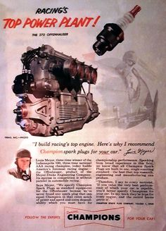 Many of the winners of the Pikes Peak Hill Climb race in the 40s ran Offenhauser motors. Offy motor took over the Indy 500 during its days