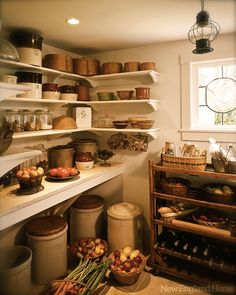 Wouldn't this be great as a nook off your main kitchen or a secret room as a huge pantry?!