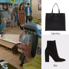 This week, we'll be discussing the outfits seen in the 2018 series remake of the 2015 romantic fantasy movie, The Beauty Inside. Fashion Tv, Kpop Fashion, Work Fashion, Trendy Fashion, Korean Fashion, Fashion Outfits, White Leather Handbags, Black Leather Tote, Seo Hyunjin