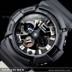 Buy Casio G-Shock Black Analog Digital 200M Watch GA-201-1A 6a4307a22f