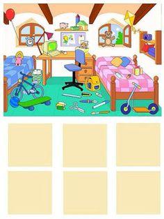 Υλικά Αυτισμός: Χαρτογράφηση: σημεία και αντικείμενα