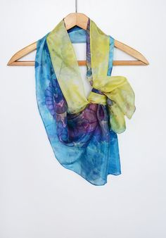 Hey, I found this really awesome Etsy listing at https://www.etsy.com/il-en/listing/234421437/hand-painted-blue-yellow-silk-scarf-with