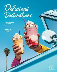 coffe - Food and Drink Food Graphic Design, Food Poster Design, Menu Design, Food Design, Blended Drinks, Blended Coffee, Bubble Tea Menu, Candy Craze, Delicious Destinations