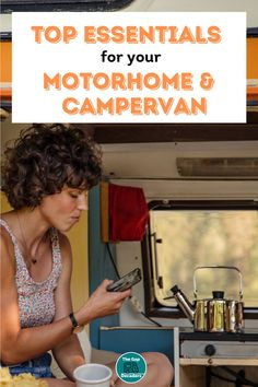 What should you pack in your motorhome or campervan? We made a list of motorhome essentials so you don't have to + a printable packing list to help you remember #motorhomeessentials #motorhomeessentialspackinglist #motorhomeessentialsproducts #motorhomecampingessentials #campervanessentials #campervanessentialslist #essentialsforcampervan Campervan Accessories, Motorhome Accessories, Rv Accessories, Motorhome Living, Motorhome Interior, Motor Home Camping, Motorhome Organisation, Printable Packing List, Van Life