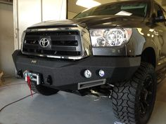 2013 Toyota Tundra with Smittybilt M1 front bumper and Torxx 9000lb winch.  MSAStore.com  Authorized seller.