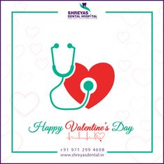 #HappyValentinesDay Lots of #love and #smile from Shreyas Dental Hospital.