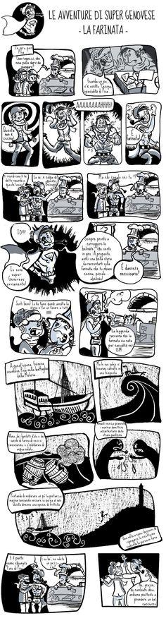 La vera storia della farinata! Projects To Try, Diagram, Illustration, Illustrations