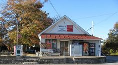 Carriss's store in Southville, Kentucky. A century old store in Shelby County where you can go for hot meals & even hotter gossip. They have a counter full of homemade candy!