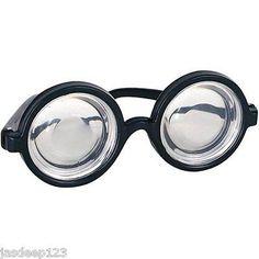 04d944b230 Nerd Glasses Geek Specs School Disco Glasses Joke Fancy Dress Book Week  Harry