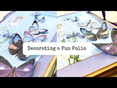 Let's Decorate a Fun Folio/Digital Collage Club Design Team Project - YouTube