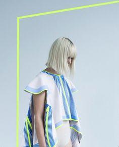 Vera de Pont afstudeerproject. Stoffen waarmee op eenvoudige wijze een jas naar keuze kan worden gemaakt. Weblog van Marion Pannekoek sieraad ontwerper