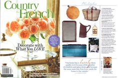 CIE LUXE Feature: Country French Magazine  Olive Lavender liquid soap is selected by Calfornia-based interior decorator, shop owner, and blogger, Brooke Giannetti. Shop it: http://www.compagniedeprovence-usa.com/Olive-Lavender.html  #OliveLavender #CieLuxe #CieluxeBrands #CountryFrench #CountryFrenchMagazine #CompagniedeProvence #CDP