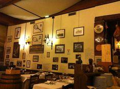 Taverna Trilussa Rome - Trastevere - our favorite meal
