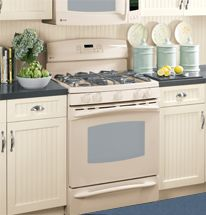 Bisque Color Kitchen On Pinterest Cream Cabinets Cherry