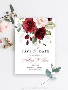 Wedding Card Design, Floral Wedding Invitations, Wedding Stationary, Wedding Invitation Cards, Wedding Details, Wedding Cards, Invitation Wording, Floral Invitation, Invitation Suite
