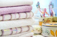 asciugamani, riciclo asciugamani, vecchi asciugamani, asciugamani di spugna, riciclare asciugamani