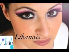 Maquillage coloré : Maquillage Libanais - YouTube