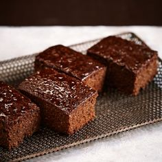 Hot Chocolat's Illegal Parkin - an unmatchable blend of chocolate, ginger and spices. Find the full recipe at www.redonline.co.uk.