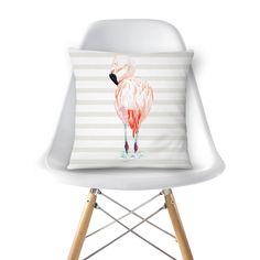 almofada 'Flamingo' \ @analulouise na loja @colab55 \ https://www.colab55.com/@analulouise