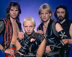 Glenn Tipton (Guitar), Rob Halford (vocals), Kenneth K K Downing (Gutar), Dave Holand (Drums) . 1974 to 1989) It's just missing the bass player (