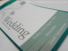 Wedding Stationery, Belfast, Northern Ireland, Invitations, Place Cards, Order of Service, Table Plans / Charm Wedding Studio