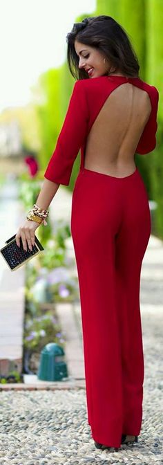 Considering the latest fashion trends, Hot Jumpsuit outfit ideas for Girls holds one of the top positions in the list. Jumpsuit outfits looks perfect while Overall Lang, Look Fashion, Winter Fashion, Womens Fashion, Fashion Trends, Fashion Styles, Street Fashion, Fashion Ideas, Long Prom Dresses