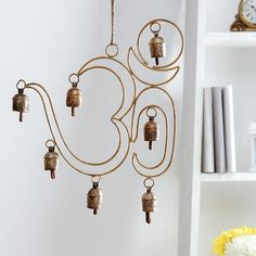 Unravel India Copper Bells Wind Chime