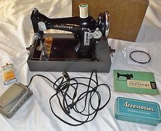 Vintage Challenge Model 22 Sewing Machine Mfg for Sears and Roebuck by Simpsons | eBay