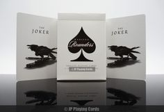 Buy Black Madison Rounders Playing Cards online at JP Playing Cards