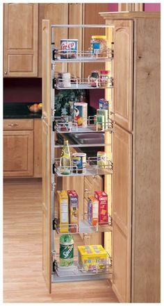 Rev A Shelf 5758 14 1 5700 Series Inch By 58 Tall Two Tier Pull Out Pant Chrome Cabinet Organizers Pantry