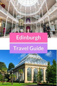 Edinburgh travel guide - top things to do in Edinburgh, Scotland.