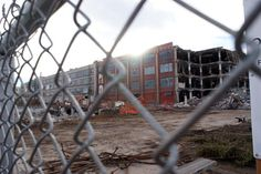 The Gates Rubber Factory on Broadway and Mississippi is finally being demolished. Redevelopment is next. What do you hope to see?