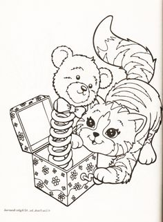 1000 Images About Lisa Frank Coloring Pages On Pinterest